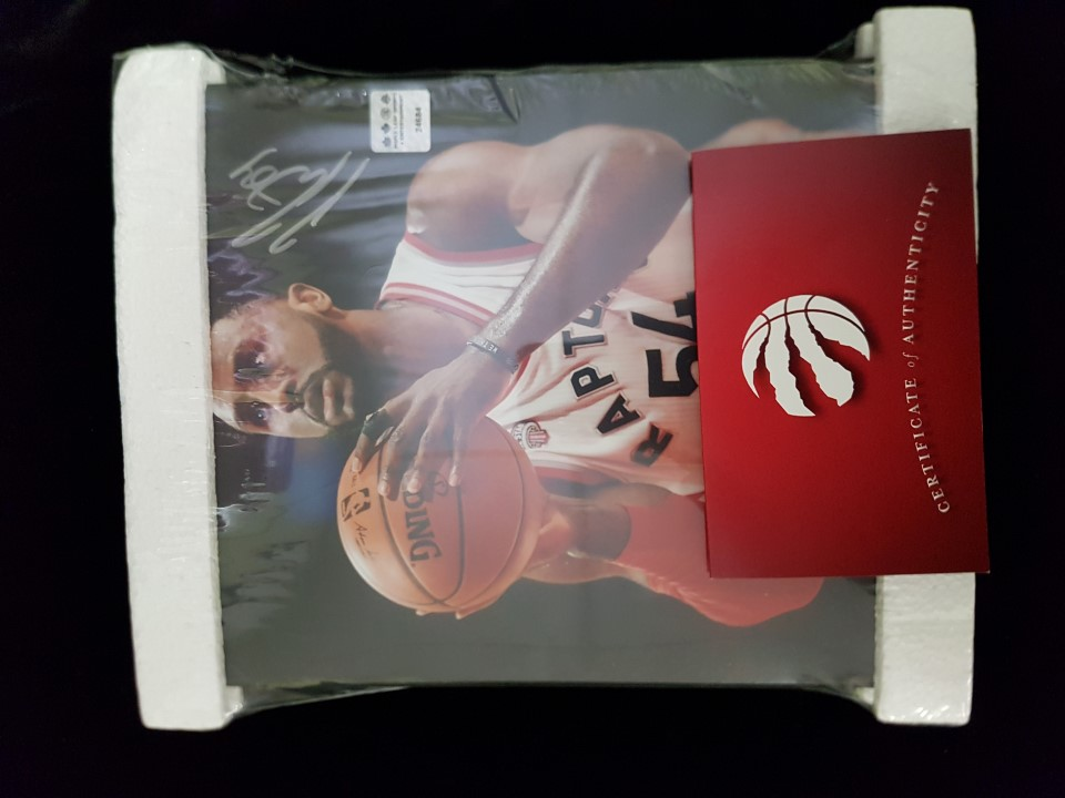 Signed Patrick Patterson Picture